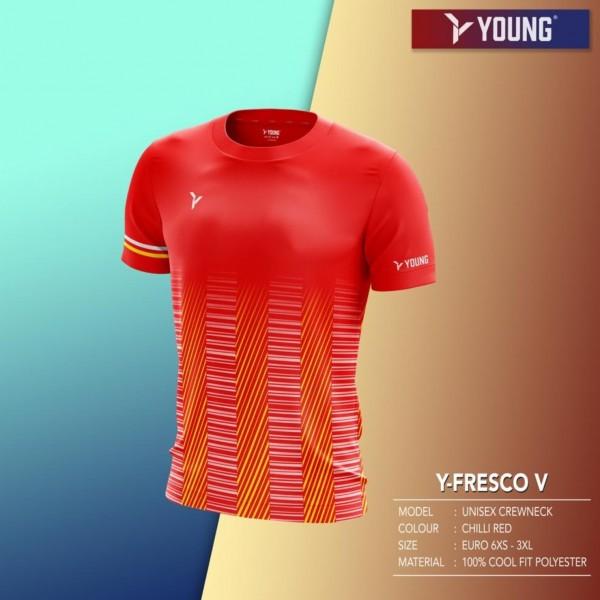 Männer Shirt Fresco 5 red