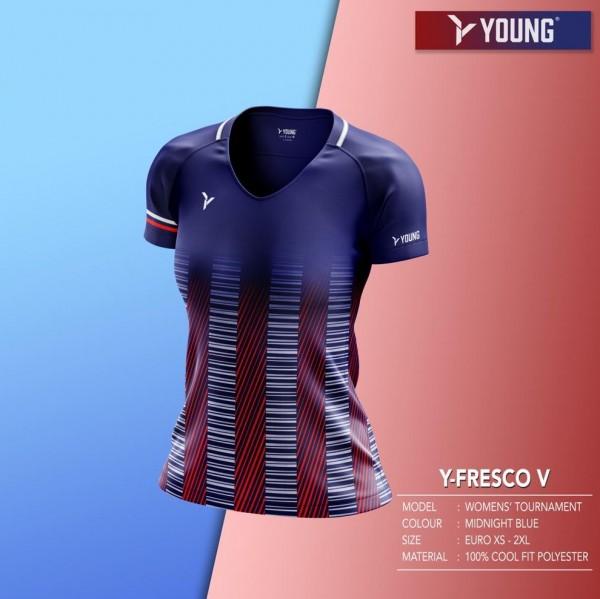 Damen Shirt Fresco 5 navy