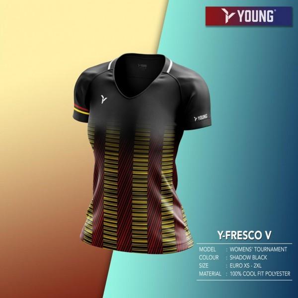Damen Shirt Fresco 5 black