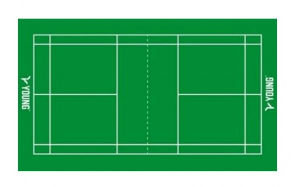 Badmintonfeld-Matten *** auf Bestellung